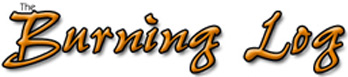 The Burning Log - Logo