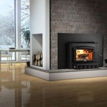 Osburn Wood Insert Fireplace