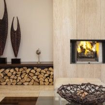 ASTRIA Craftsman ST01 Wood Fireplace
