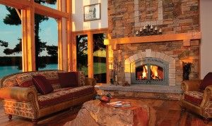Napoleon High Country NZ6000 Wood Fireplace