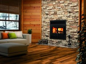 Usburn OB04002 Stratford Wood Fireplace