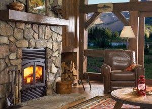 Regency R90 1 Wood Fireplace