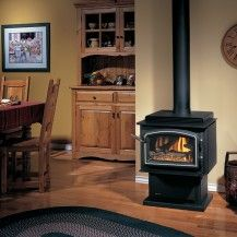 Regency Stove Fireplace 1