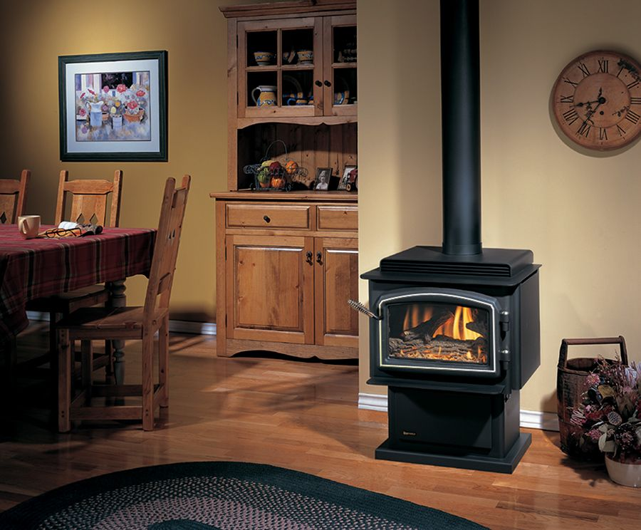 Can I Convert A Gas Log Fireplace To Wood Burning Home Home Design Idea