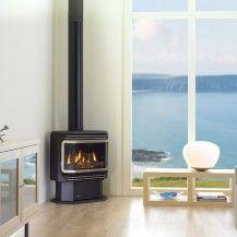 Regency Stove Fireplace 2