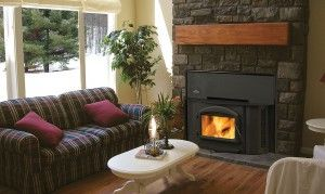 Regency Oakdale 1402 Wood Fireplace