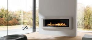 Stylish and modern gas fireplace from the brand Marquis - Infinite series