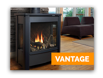 Ottawa's Marquis Gas Fireplace - Vantage model