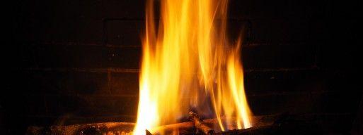 Wood burning fireplace in Ottawa