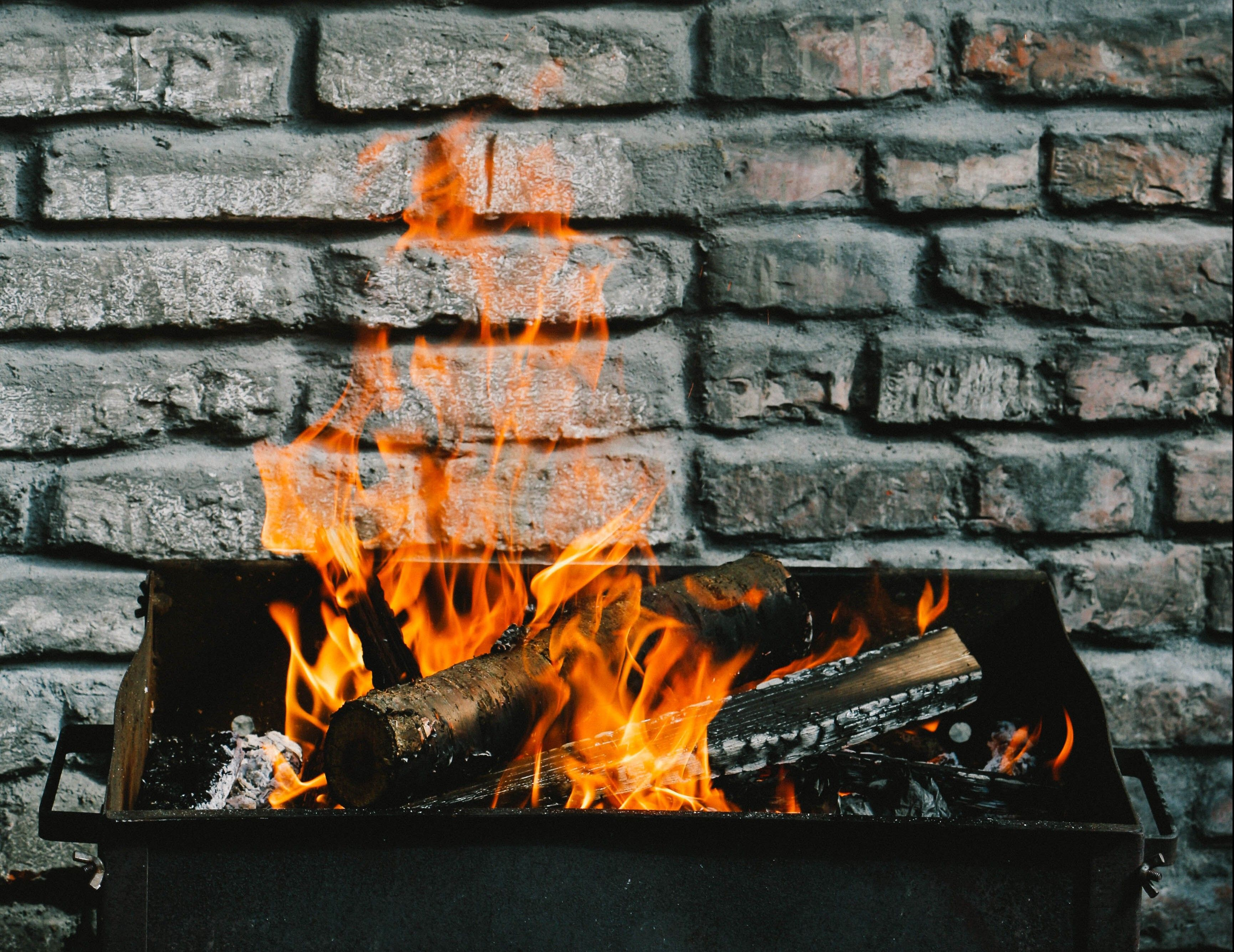 can home fireplace glass better look your brick new front doors help cleaning how