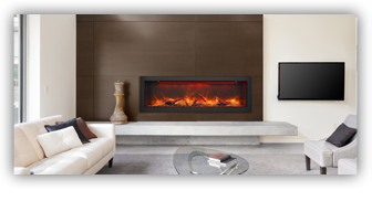 Beautiful Amantii Electric Fireplace in Ottawa Home