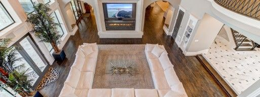 Electric fireplace are not only economically friendly, but they can be used all year round.